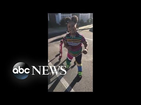Mom inspires by documenting daughter with cerebral palsy learning to walk