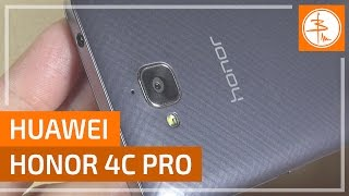 обзор смартфона Huawei Honor 4C pro