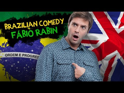 Fábio Rabin - Stand Up Comedy Brazilian comedian in England