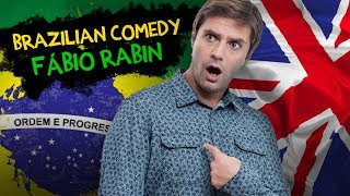 Fábio Rabin - Stand Up Comedy (Brazilian comedian in England)