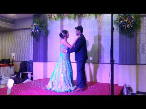Romantic couple dance on engagement by Dr.Neha and Dr.Vishal