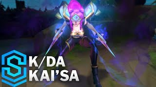 K/DA Kai'Sa Skin Spotlight - Pre-Release - League of Legends