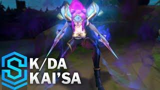 K/DA Kai'Sa Skin Spotlight - Pre-Release - League of Legends