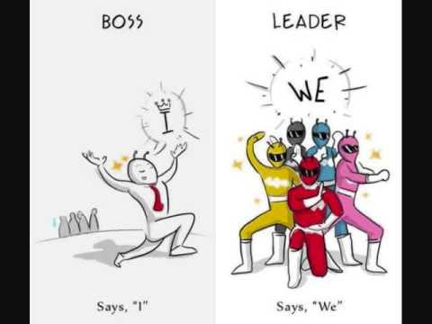 difference between power and leadership pdf