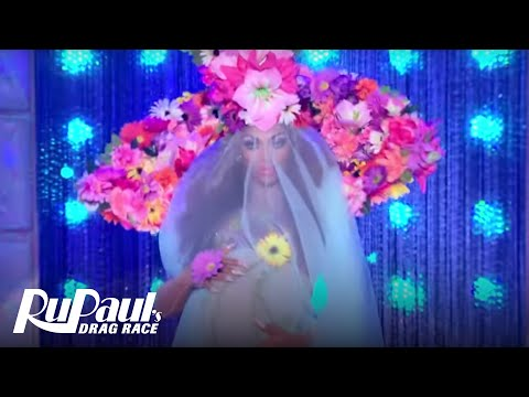 Flower Power Runway ' '  RuPaul's Drag Race All Stars