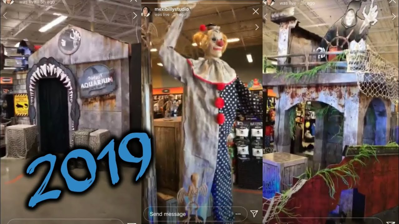 Spirit Halloween 2019 STORE Tour: Credit Goes To Mexibillystudio | Spirit  Halloween Is Now OPEN