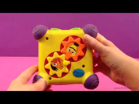 Sesame Street Musical Cube Toy with Sounds Music for Kids