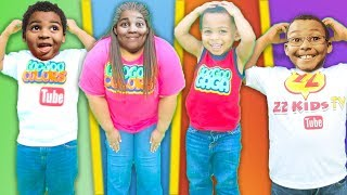 HEAD SHOULDERS KNEES & TOES Song + More! Body Parts Exercise Songs for Children with Goo Goo Gaga!