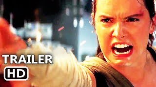 "STAR WARS 8 ""Rey Turning Grey"" Trailer (2018) Disney Movie HD"