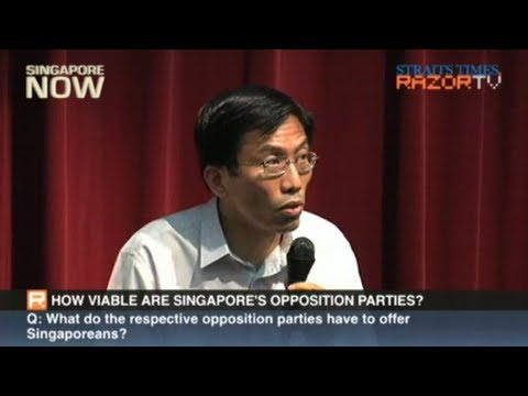 How viable are Singapore's opposition parties? (GE 2011 Forum Pt 6)