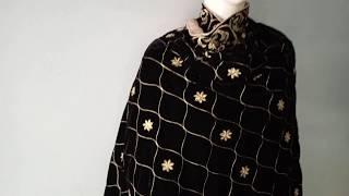 Latest Velvet Shawl Designs in Black | Manufacture - Malik Stitchers 00923217571740