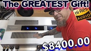 I Got an $8400 Christmas Gift! D\'Amore Engineering 1500.4 Dual Stereoblock Hi-Res Amplifier