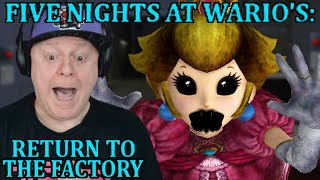 THE MOST DEADLY PRINCESS   FIVE NIGHTS AT WARIO'S RETURN TO THE FACTORY - NIGHTS 3 4