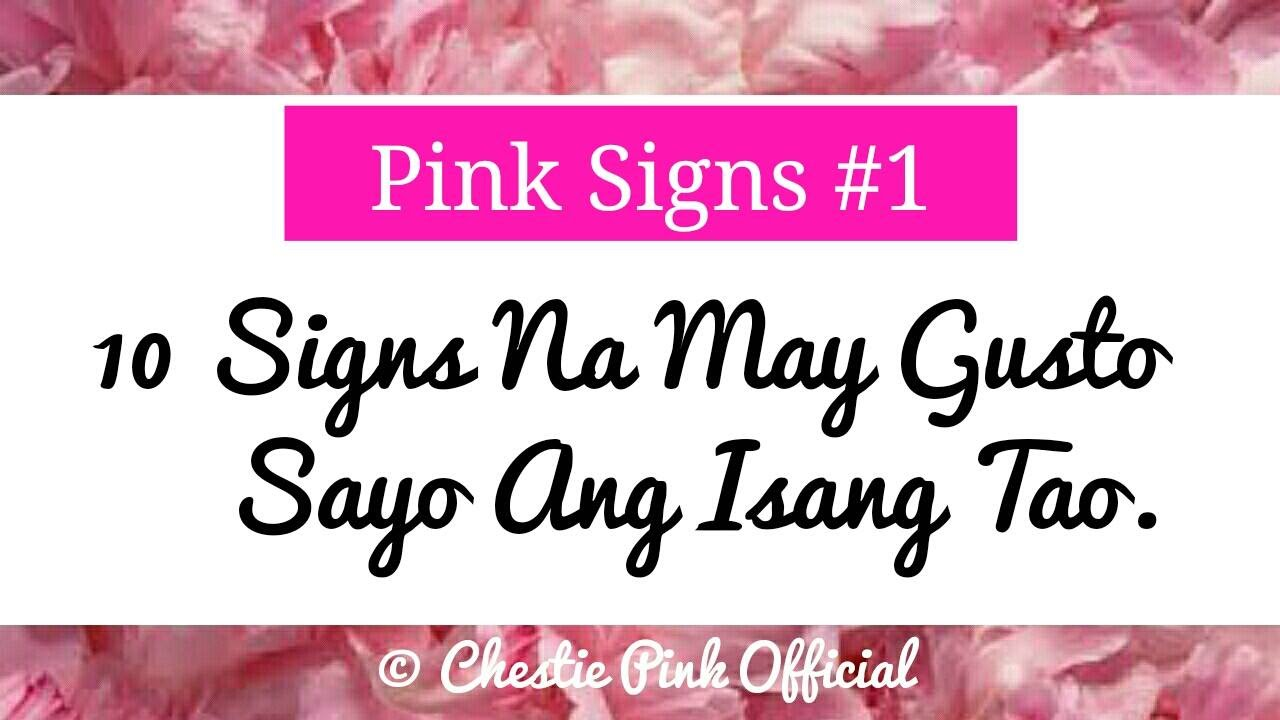 [pink Signs #1]  10 Signs Na May Gusto Sa Iyo Ang Isang. Physician Office Signs. Surgery Signs. Pound Signs. Child Chart Signs. Related Illness Signs. Inflammation Signs. Budweiser Signs Of Stroke. Wild West Signs Of Stroke