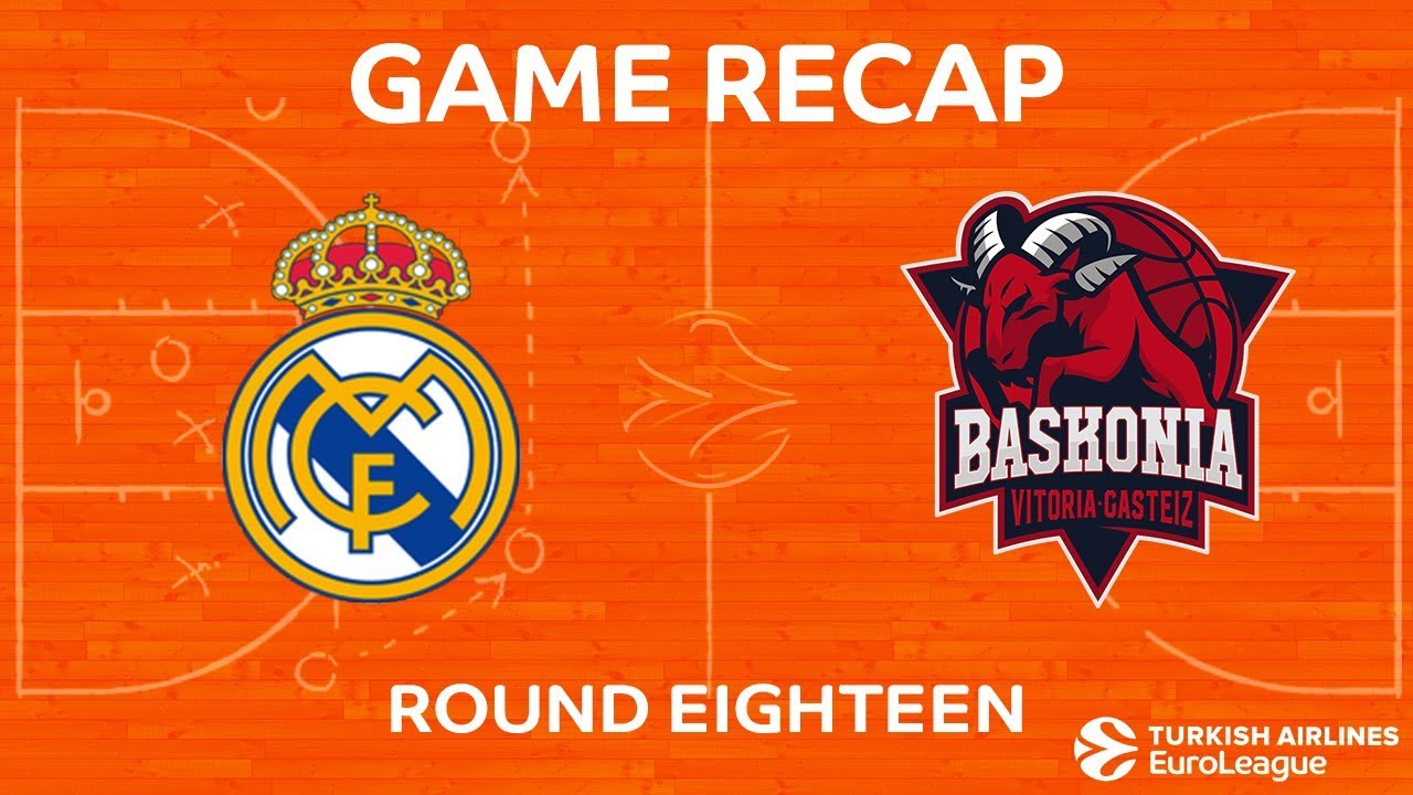 Highlights Real Madrid Baskonia Vitoria Gasteiz Youtube