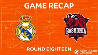 Highlights: Real Madrid - Baskonia Vitoria Gasteiz