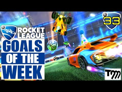 Rocket League - TOP 10 GOALS OF THE WEEK #33 (Rocket League Best Goals) thumbnail
