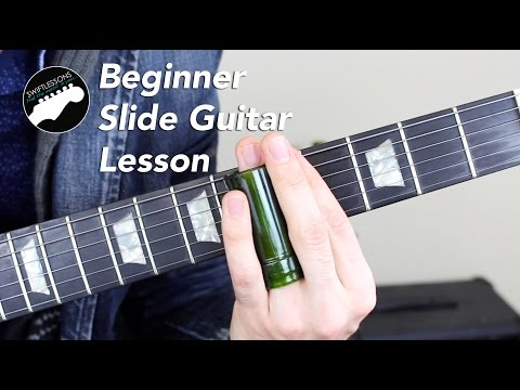 Super Beginner Slide Guitar Lesson