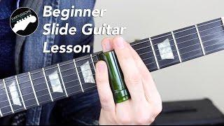 super beginner slide guitar lesson