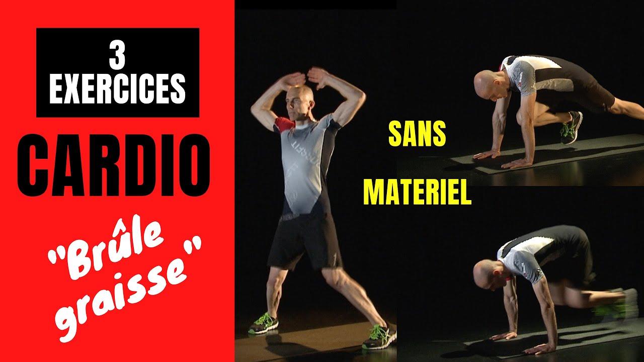"""EXERCICES CARDIO """"BRÛLE GRAISSE"""" - RENFORCEMENT MUSCULAIRE ..."""