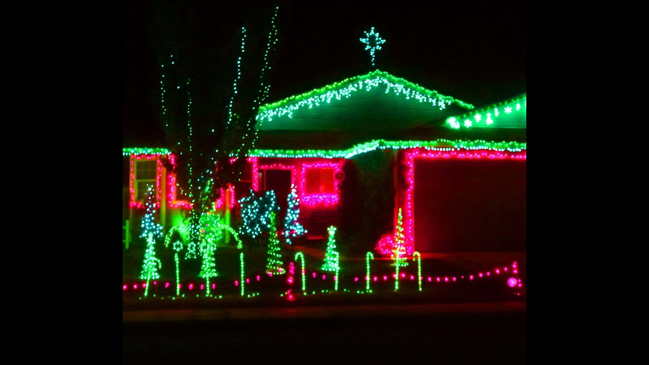 Synchronized Christmas Lights And Music Kit