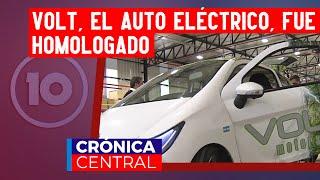 Volt: el auto eléctrico cordobés fue homologado y empieza su producción en serie