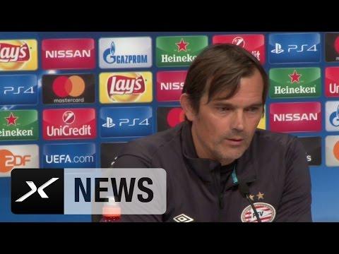 Phillip Cocu: Carlo Ancelotti und Pep Guardiola? Kein Vergleich! | FC Bayer München - PSV Eindhoven