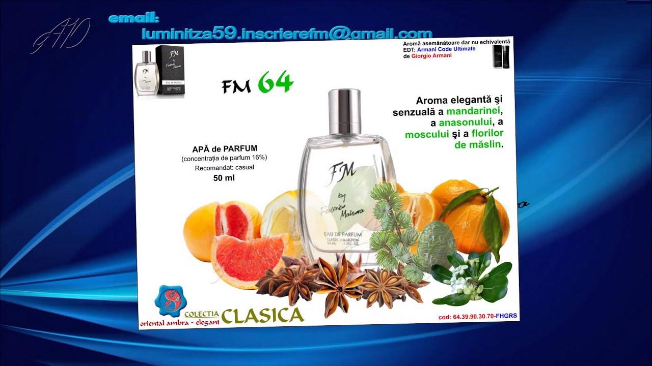 Parfum Fm Lux Si Clasic Barbati Youtube