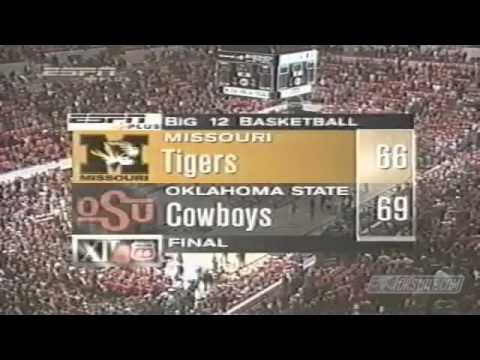 Oklahoma State vs. Missouri - 2001 Basketball