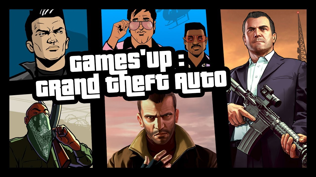 Games'up : De GTA à GTA V