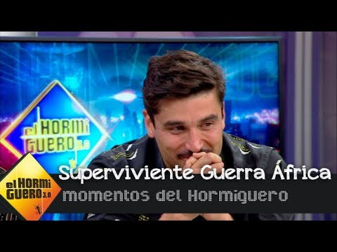 Álex García se emociona al escuchar el testimonio de un superviviente - El Hormiguero 3.0