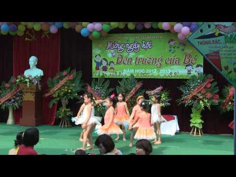Lễ khai Giảng Trường Mầm non Tuổi Hoa Nghĩa Đô Hà Nội 2012