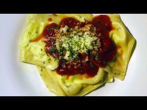 How to make Broccoli and Ricotta Ravioli