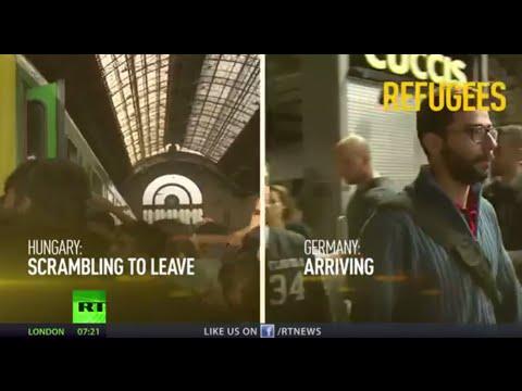 'Please don't come': Refugee crisis splits EU