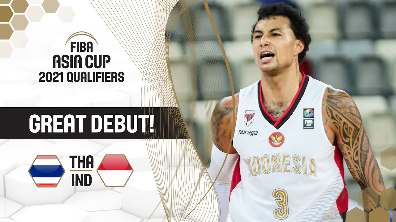 22/8/8 - Brandon Jawato's impressive debut performance for Indonesia | FIBA Asia Cup 2021 Qualifiers