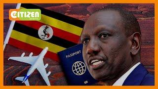 Naibu rais William Ruto amezuiliwa kusafiri kuondoka uwanja wa ndege wa Wilson kuelekea Uganda