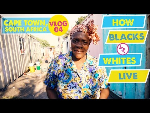 HOW BLACKS vs. WHITES LIVE IN SOUTH AFRICA | Langa Township - Cape Town Vlog 4