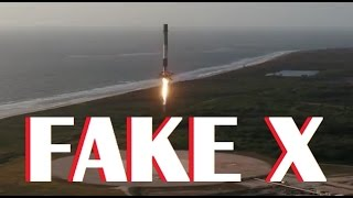Flat Earth - SpaceX Falcon9 landing 5.1.2017