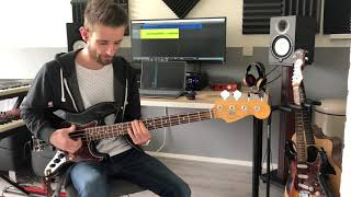 Summer Days // Martin Garrix feat Macklemore & Patrick Stump // Bass cover