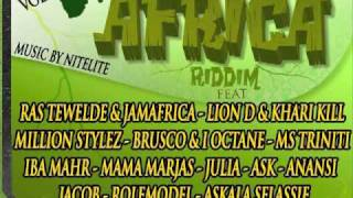 Lion D - Too Physical - MAMA AFRICA RIDDIM - BIZZARRI REC.