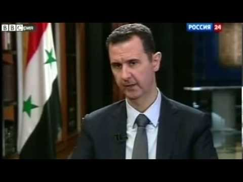 Assad sets out his terms for chemical weapons convention