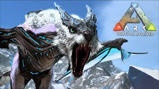 "ARK: Survival Evolved - ICE DRAGON ""MANAGARMR"" TAMING!! (ARK Extinction Gameplay)"