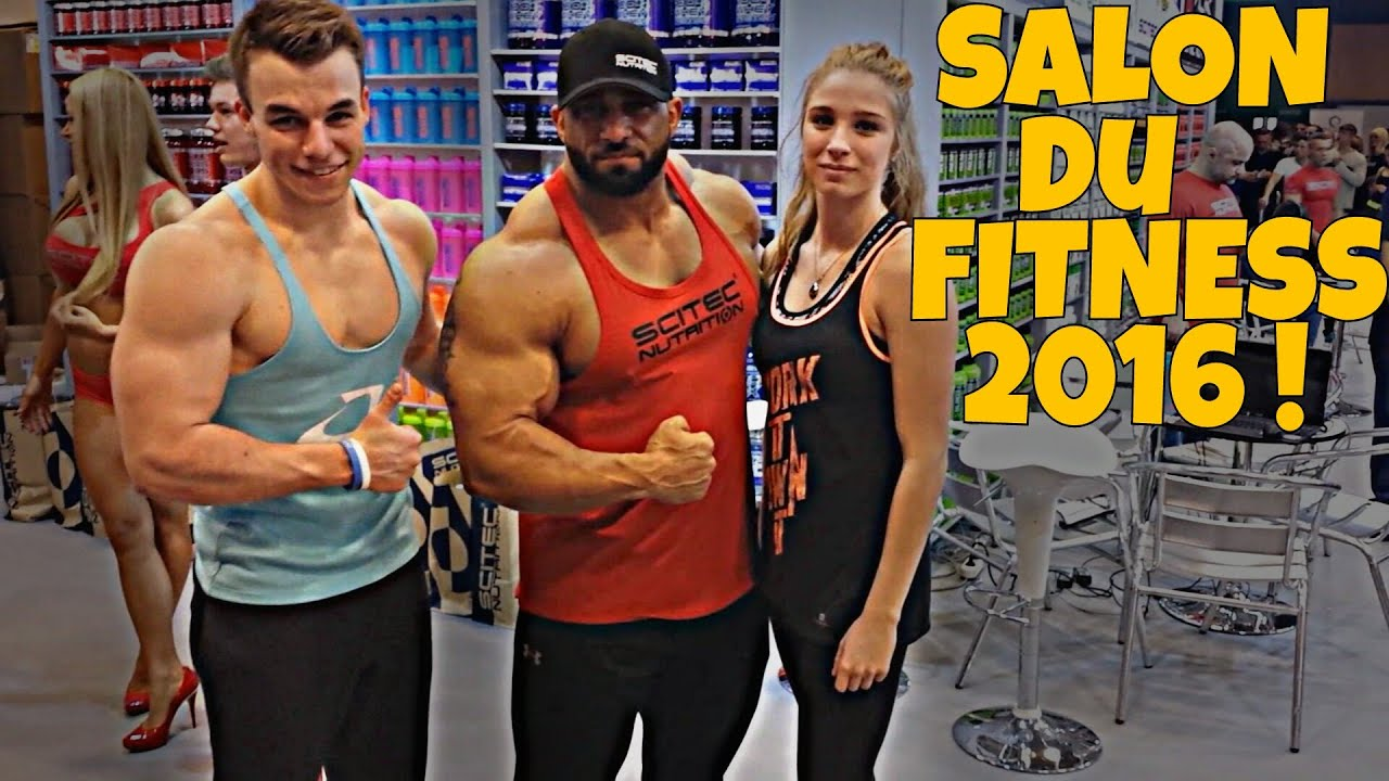 Salon du body fitness 2016 vlog1 youtube for Salon body fitness