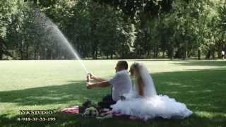 Свадебная прогулка Романа и Татьяны