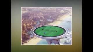 World's Highest Tennis Court at Burj Al Arab, Dubai - JanoDuniya