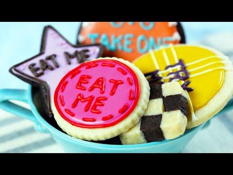 Save ALICE IN WONDERLAND 'EAT ME' COOKIES - NERDY NUMMIES Screenshots