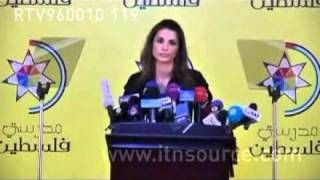 Queen Rania speaks Arabic
