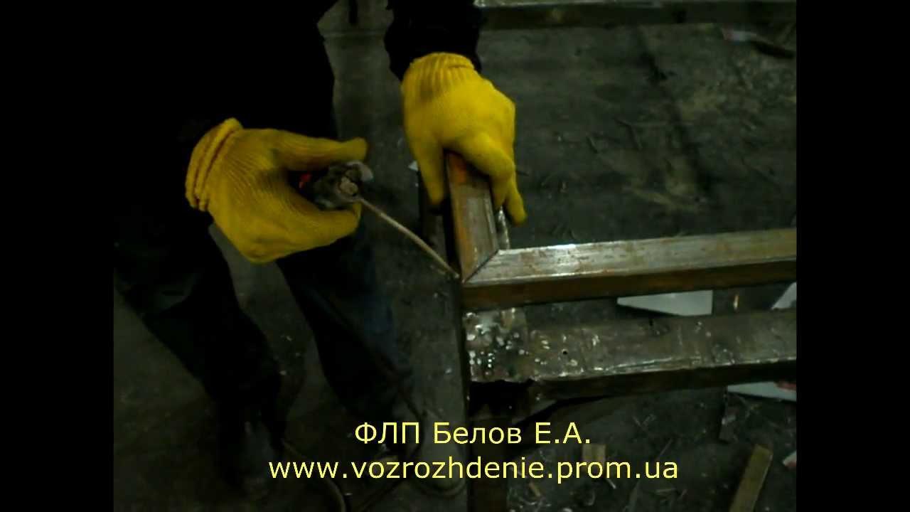 Производство еврозаборов - YouTube