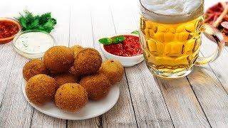 Сырные шарики: рецепт очень простой, закуска - идеальная!
