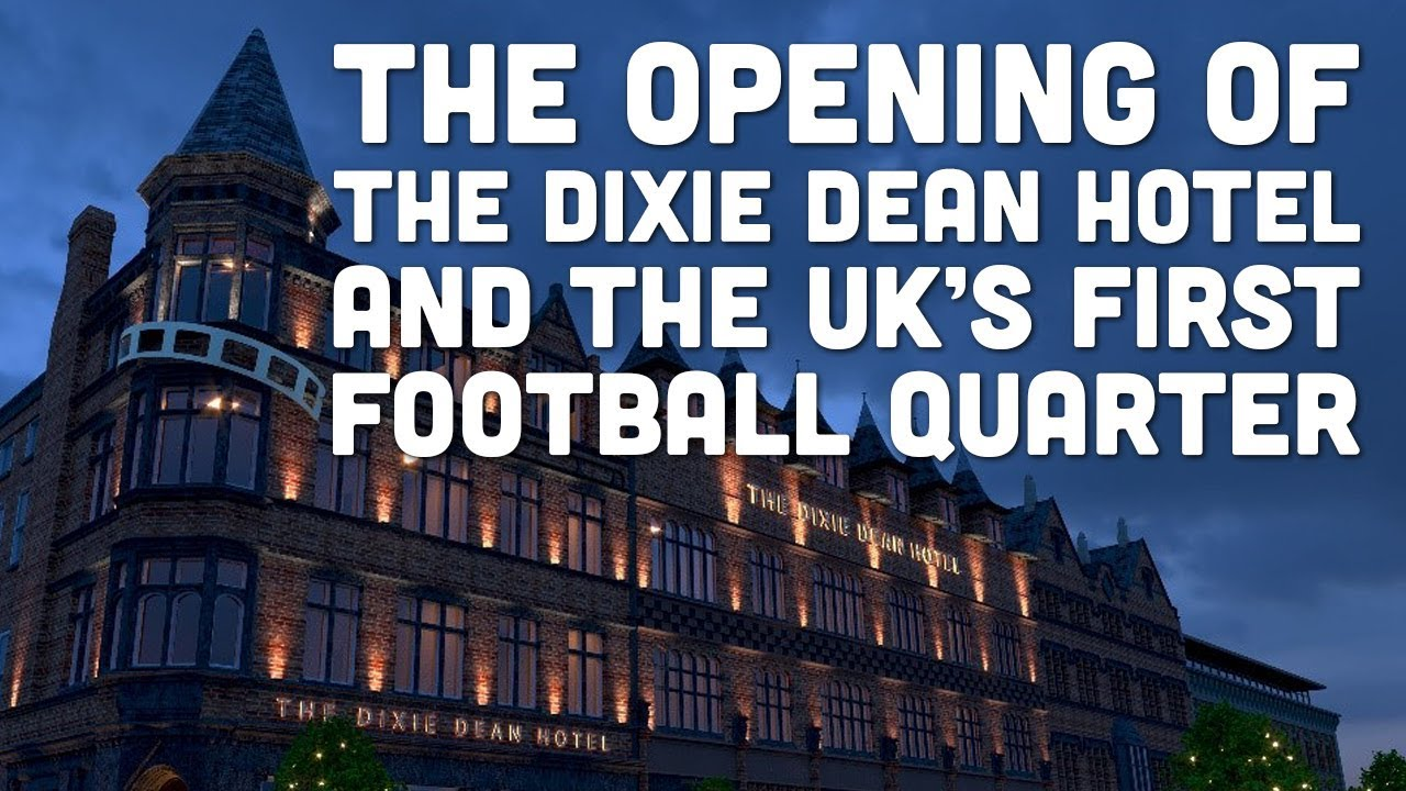 Dixie Dean hotel in the heart of Liverpool